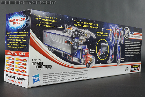 Transformers Movie Trilogy Series Optimus Prime with Trailer (Image #11 of 201)