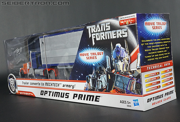 Transformers Movie Trilogy Series Optimus Prime with Trailer (Image #14 of 201)