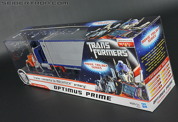 Transformers Movie Trilogy Series Optimus Prime with Trailer (Image #15 of 201)