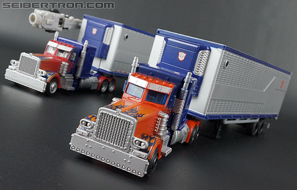 Transformers Movie Trilogy Series Optimus Prime with Trailer (Image #61 of 201)