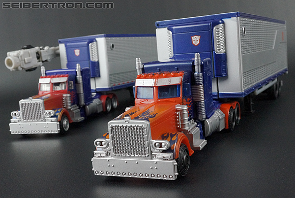 Transformers Movie Trilogy Series Optimus Prime with Trailer (Image #62 of 201)