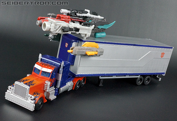 Transformers Movie Trilogy Series Optimus Prime with Trailer (Image #72 of 201)
