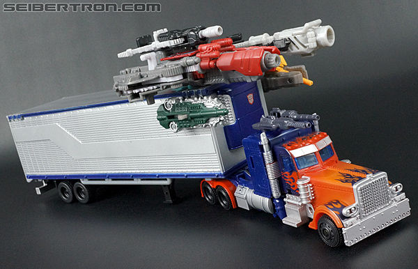 Transformers Movie Trilogy Series Optimus Prime with Trailer (Image #74 of 201)