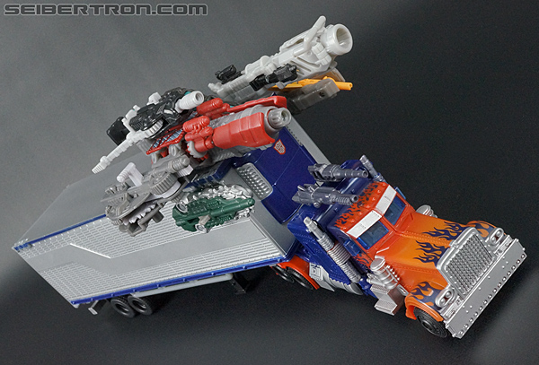 Transformers Movie Trilogy Series Optimus Prime with Trailer (Image #76 of 201)