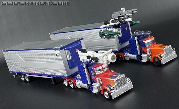 Transformers Movie Trilogy Series Optimus Prime with Trailer (Image #77 of 201)
