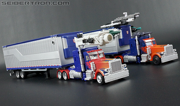 Transformers Movie Trilogy Series Optimus Prime with Trailer (Image #78 of 201)