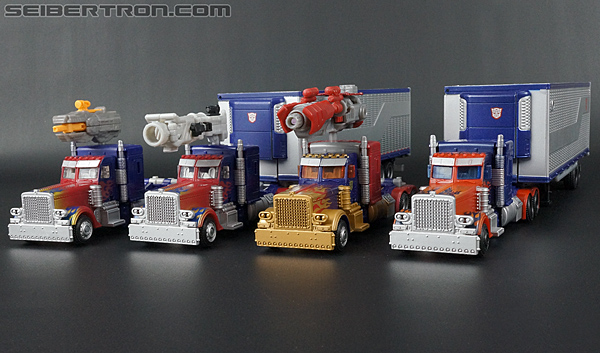 Transformers Movie Trilogy Series Optimus Prime with Trailer (Image #80 of 201)