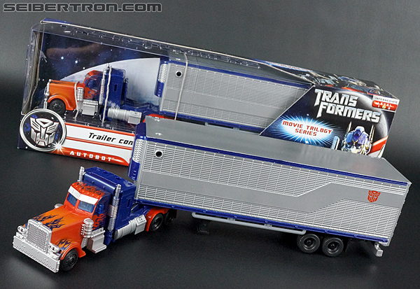 Transformers Movie Trilogy Series Optimus Prime with Trailer (Image #81 of 201)