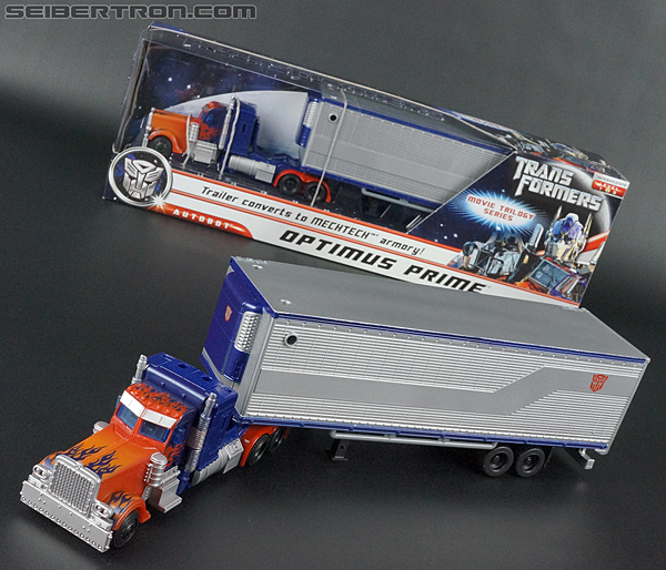 Transformers Movie Trilogy Series Optimus Prime with Trailer (Image #82 of 201)