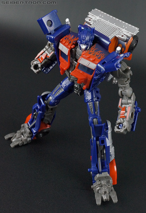 Transformers Movie Trilogy Series Optimus Prime with Trailer (Image #110 of 201)