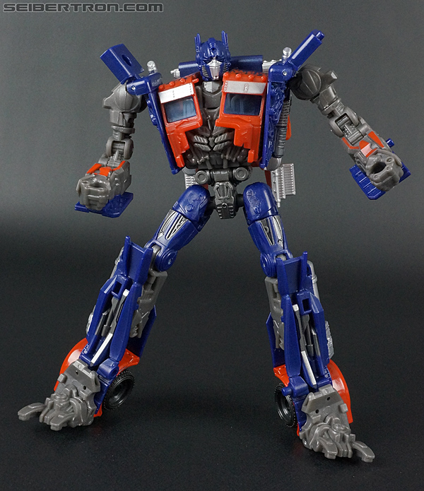 Transformers Movie Trilogy Series Optimus Prime with Trailer (Image #120 of 201)