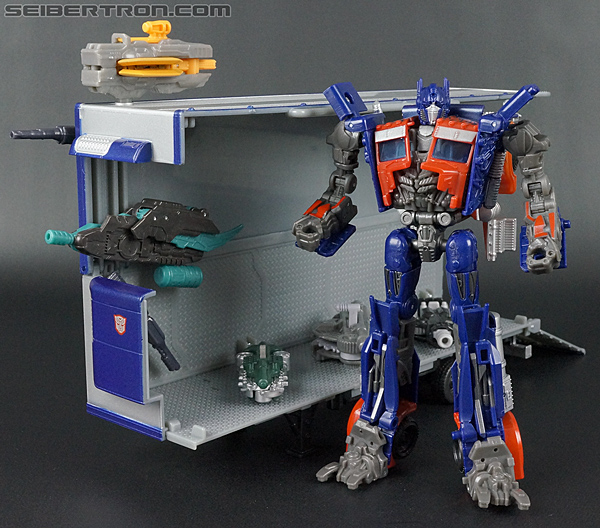 Transformers Movie Trilogy Series Optimus Prime with Trailer (Image #151 of 201)