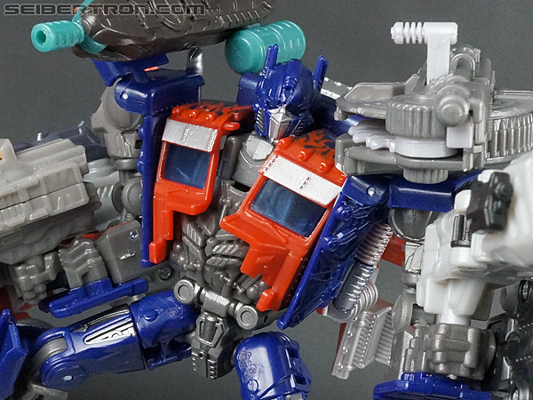 Transformers Movie Trilogy Series Optimus Prime with Trailer (Image #200 of 201)