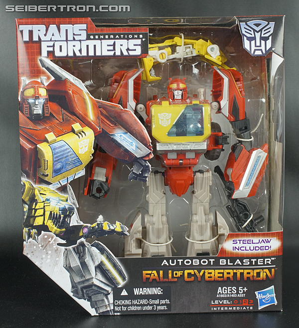 Transformers Fall of Cybertron Blaster (Image #1 of 193)