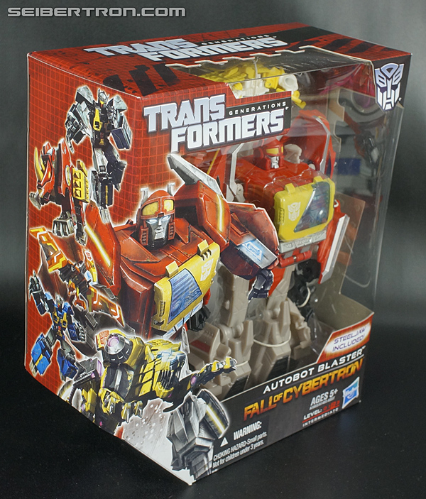 Transformers Fall of Cybertron Blaster (Image #6 of 193)