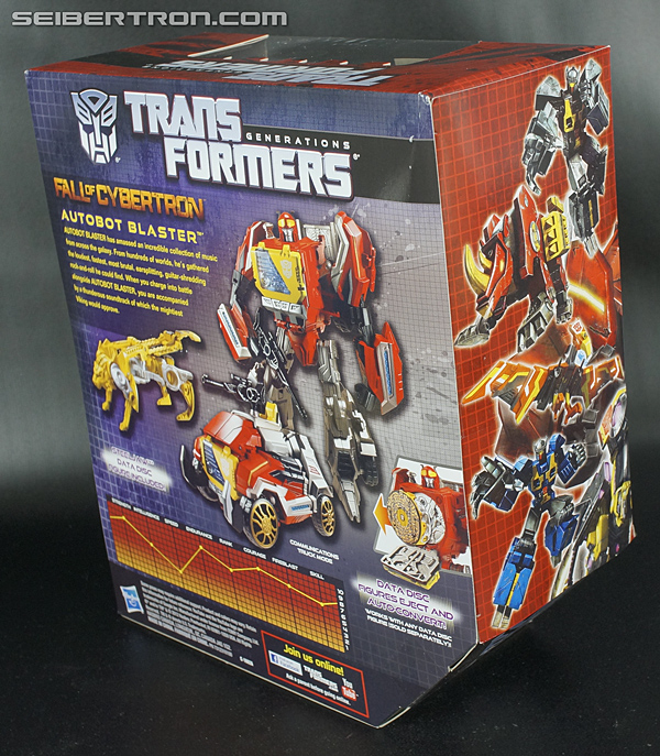 Transformers Fall of Cybertron Blaster (Image #10 of 193)