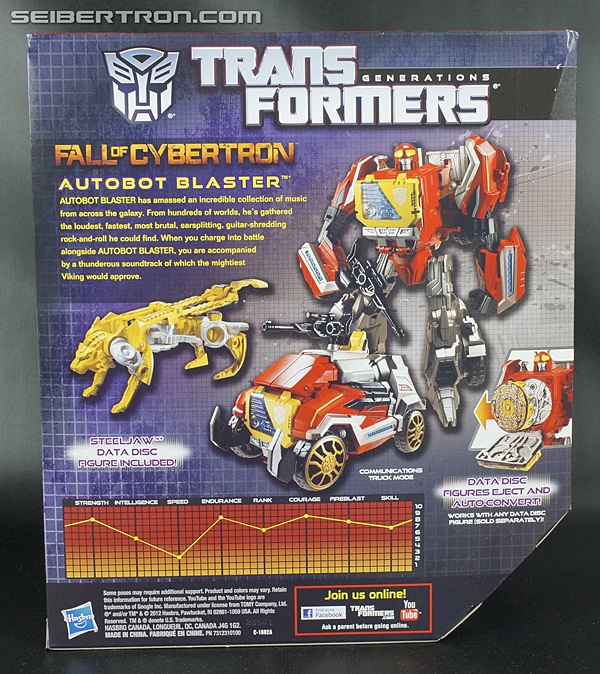 Transformers Fall of Cybertron Blaster (Image #11 of 193)