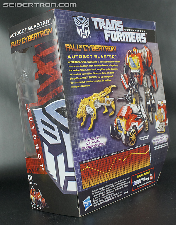Transformers Fall of Cybertron Blaster (Image #14 of 193)