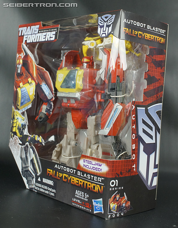Transformers Fall of Cybertron Blaster (Image #15 of 193)