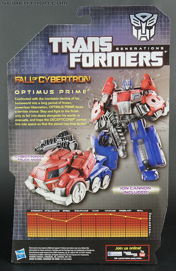 Transformers Fall of Cybertron Optimus Prime (Image #5 of 164)