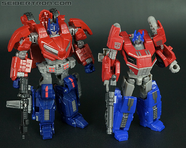 transformers fall of cybertron optimus prime toy gallery