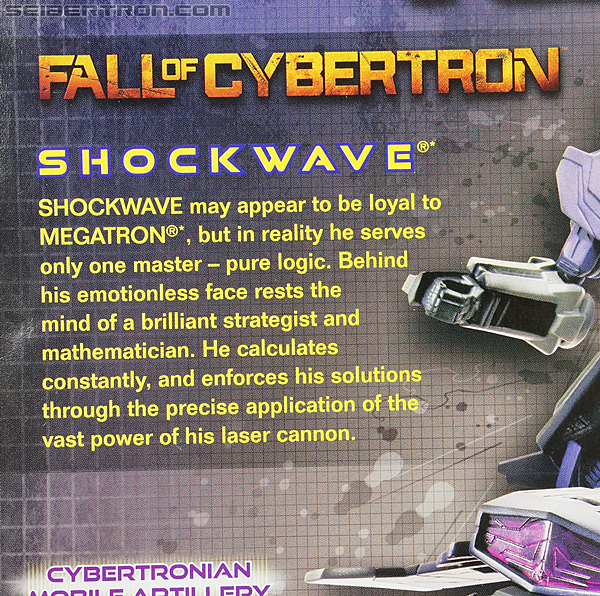 Transformers Fall of Cybertron Shockwave (Image #9 of 157)