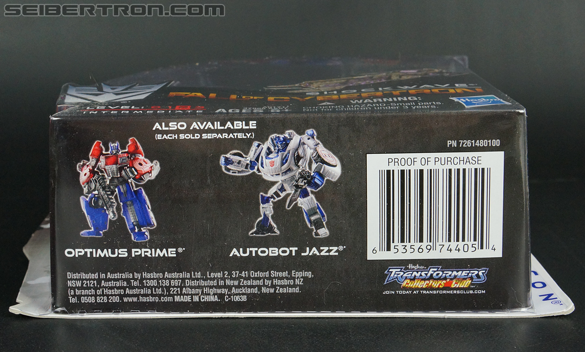 Transformers News: Possible Transformers Titans Return Shockwave Revealed [UPDATED]