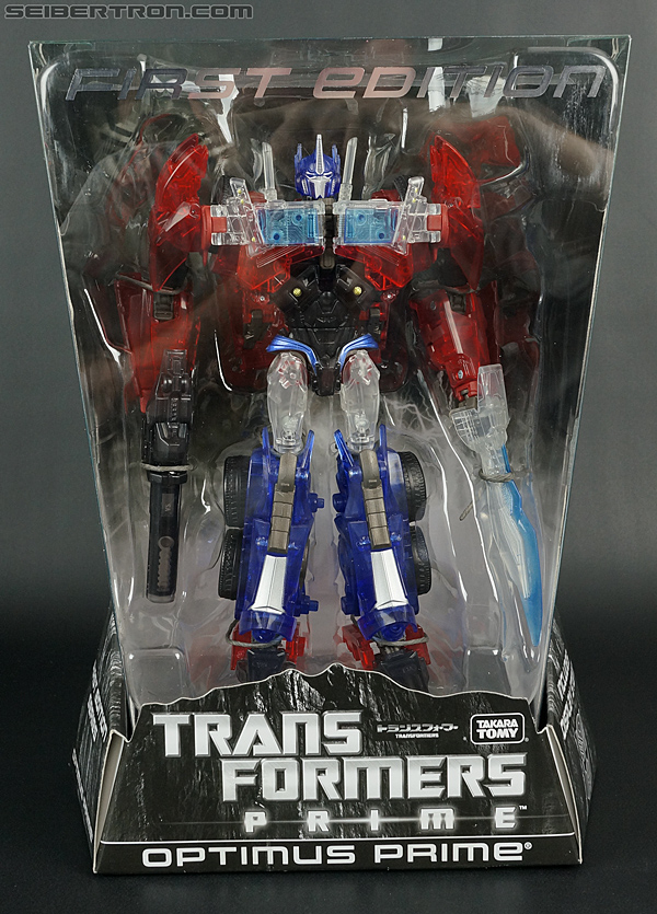 Transformers First Edition Optimus Prime (Clear) (Image #1 of 125)