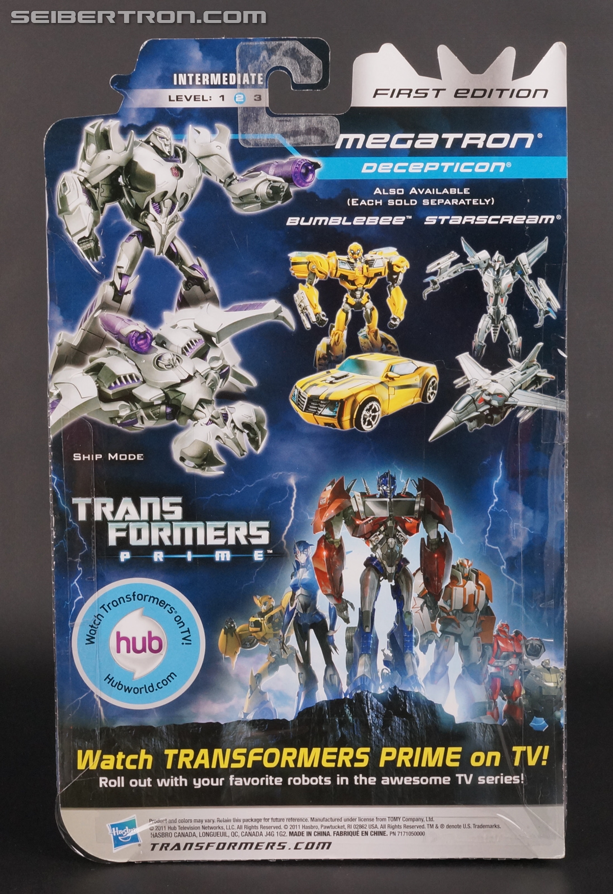 Transformers First Edition Megatron (Image #8 of 165)