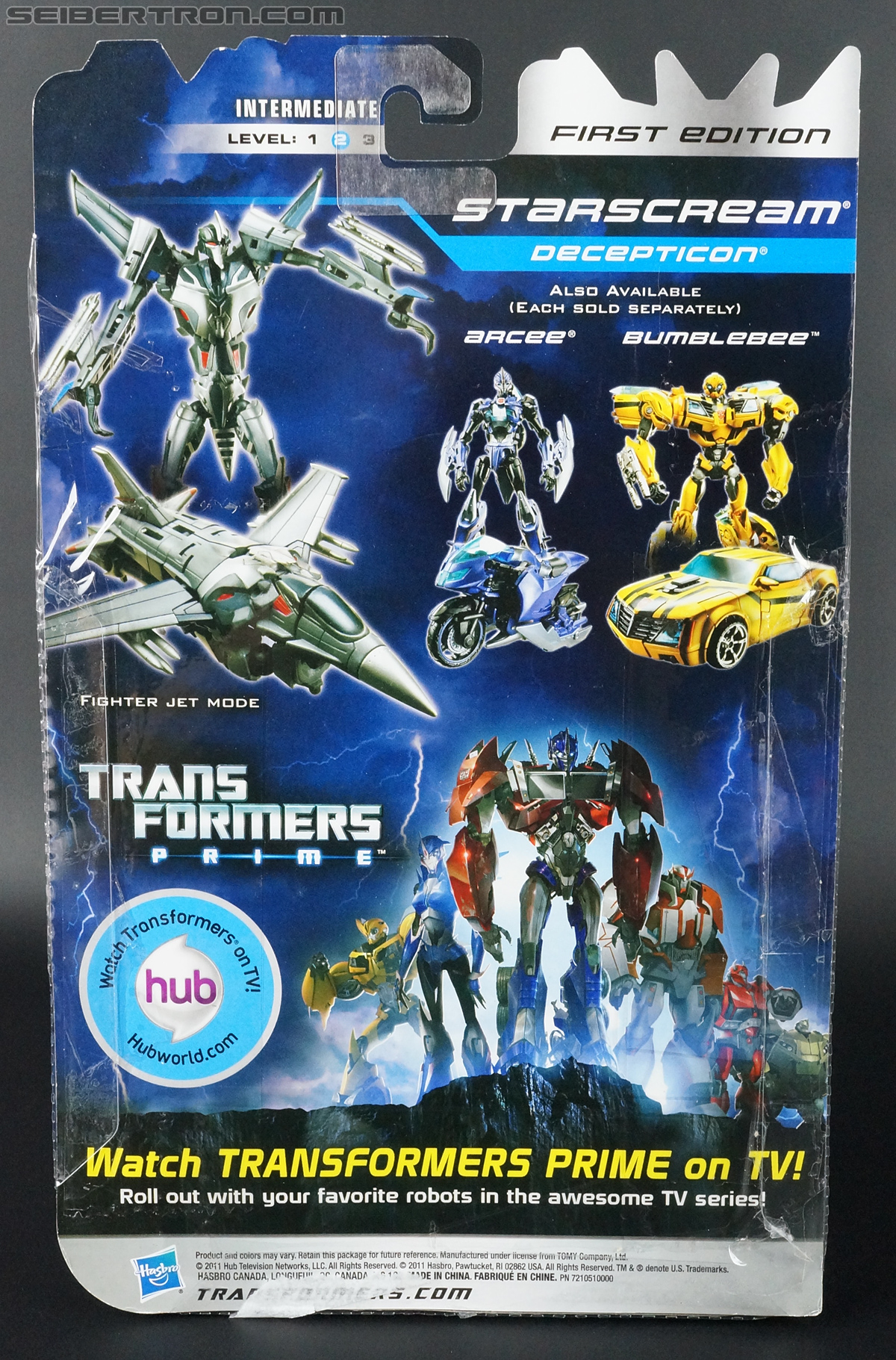 Transformers First Edition Starscream (Image #8 of 131)