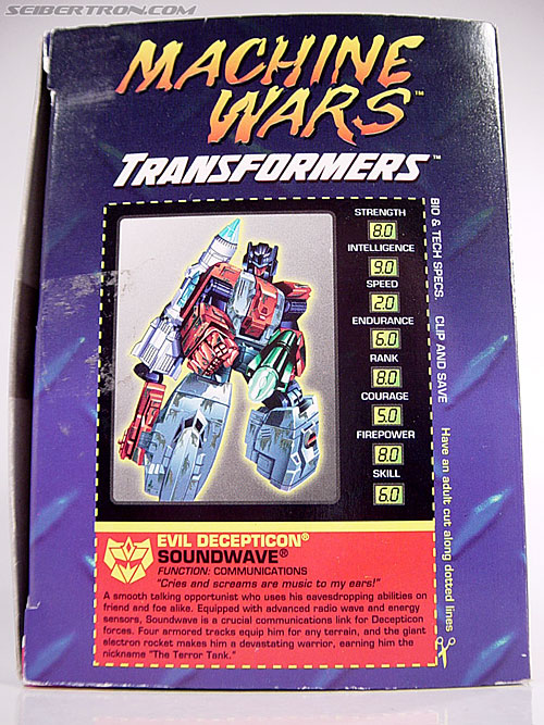 Transformers Machine Wars Soundwave (Image #5 of 61)