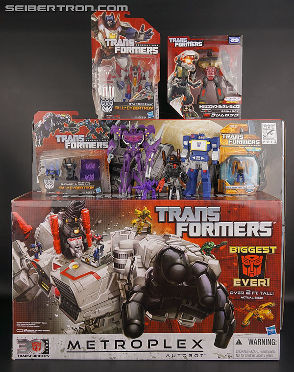 Transformers Comic-Con Exclusives Metroplex (Image #33 of 363)