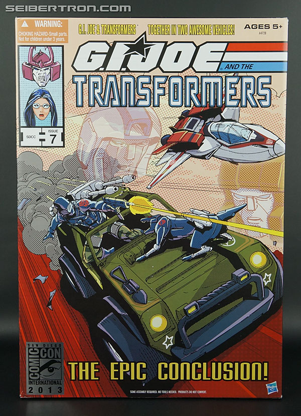 New Galleries: SDCC 2013 G.I. Joe/Transformers Crossover Set