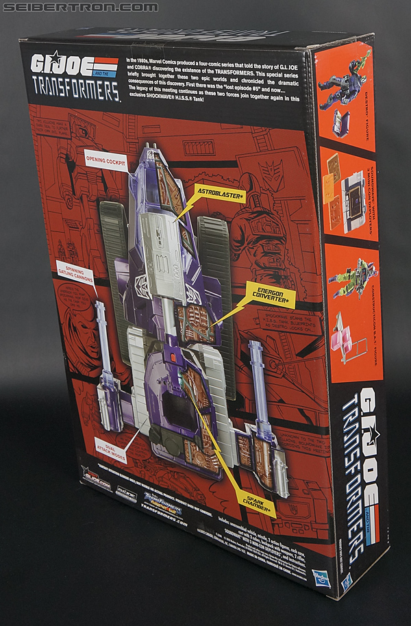 Transformers Comic-Con Exclusives Shockwave H.I.S.S. Tank (Image #21 of 227)