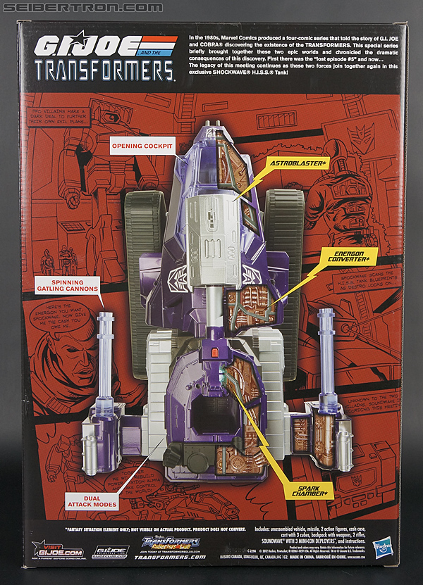 Transformers Comic-Con Exclusives Shockwave H.I.S.S. Tank (Image #22 of 227)