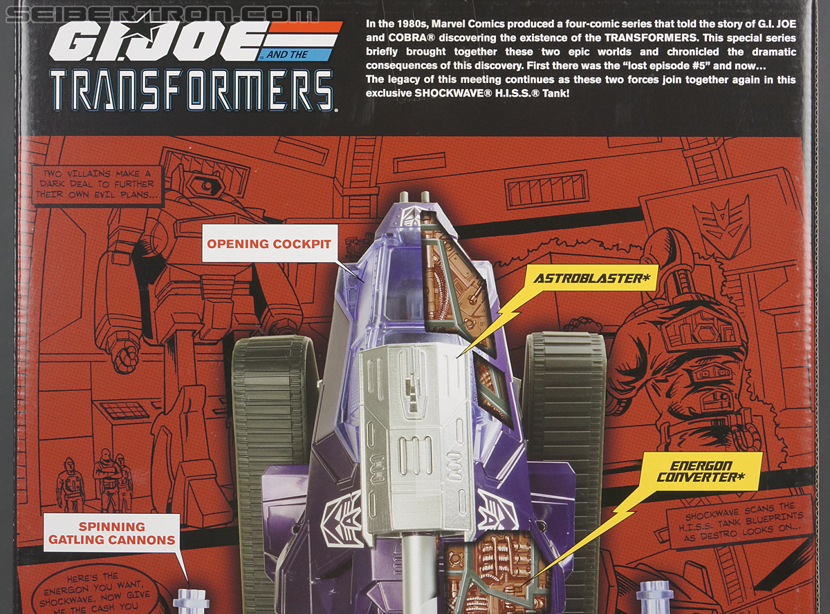 Transformers Comic-Con Exclusives Shockwave H.I.S.S. Tank (Image #23 of 227)