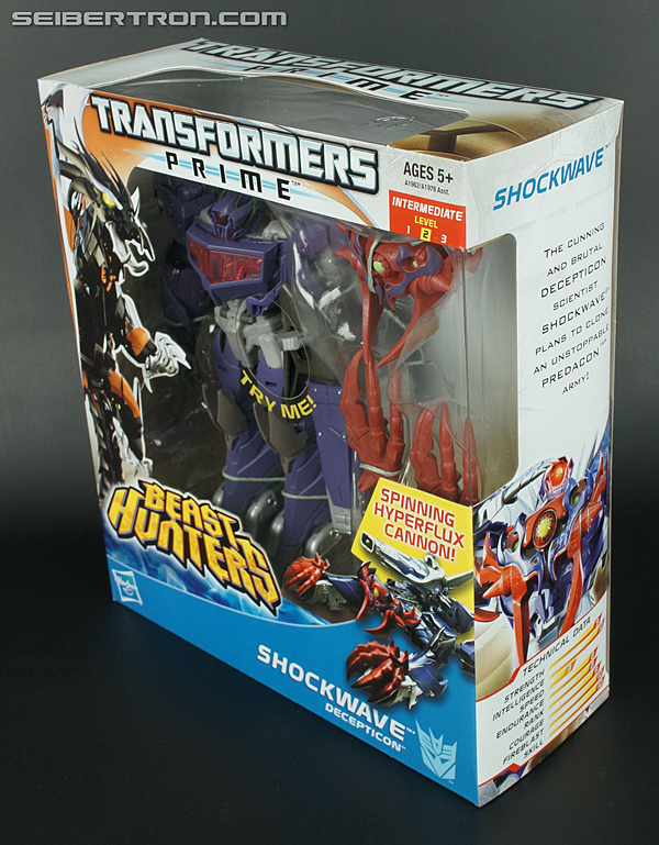 Transformers Prime Beast Hunters Shockwave (Image #15 of 140)