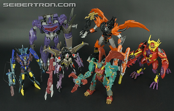 Transformers Beast Hunters Starscream complet Deluxe Premier