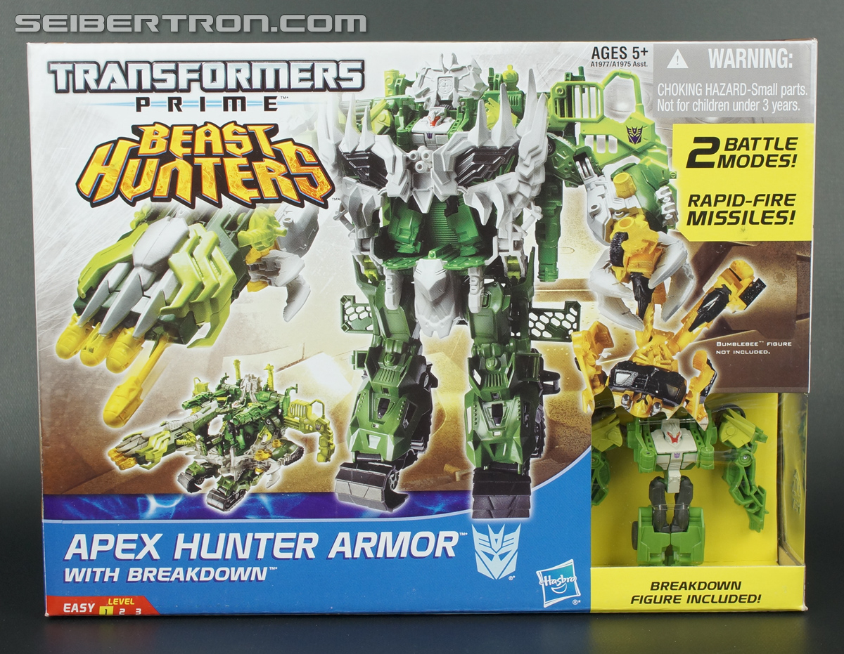 Transformers Prime Beast Hunters Cyberverse Apex Hunter Armor (Image #1 of 96)
