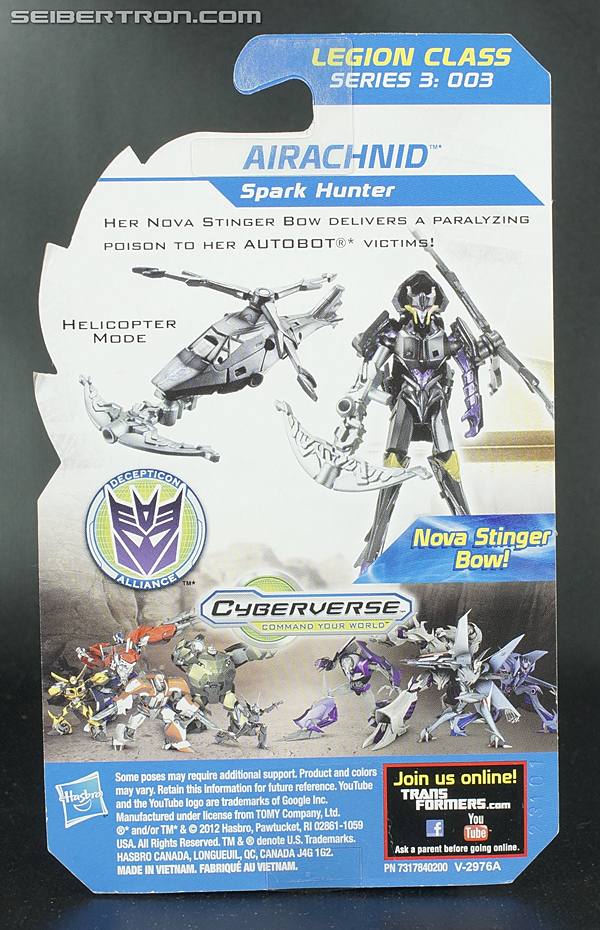 Transformers Prime Beast Hunters Cyberverse Airachnid (Image #4 of 93)