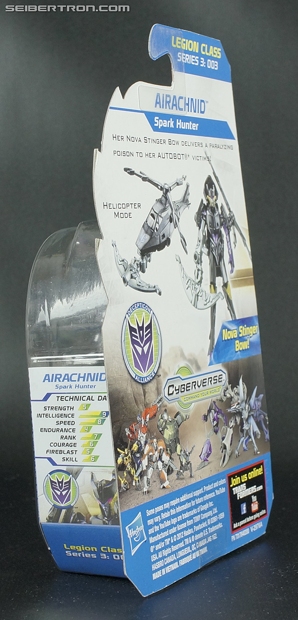 Transformers Prime Beast Hunters Cyberverse Airachnid (Image #6 of 93)