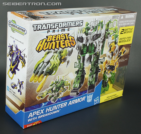 Transformers Prime Beast Hunters Cyberverse Apex Hunter Armor (Image #4 of 96)