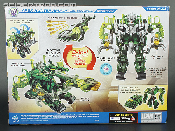 Transformers Prime Beast Hunters Cyberverse Apex Hunter Armor (Image #7 of 96)