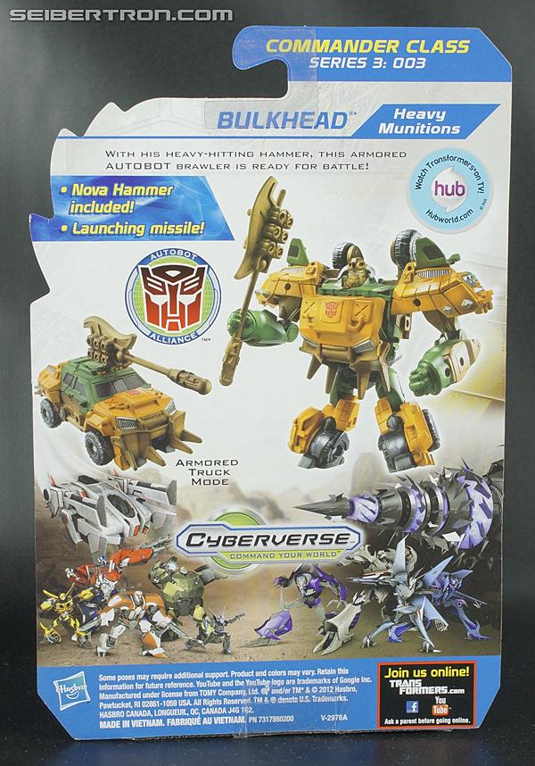 Transformers Prime Beast Hunters Cyberverse Bulkhead (Image #4 of 112)
