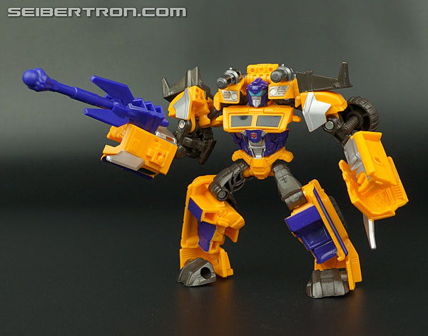 Transformers News: New Galleries: Beast Hunters Cyberverse Huffer and Beast Blade Optimus Prime