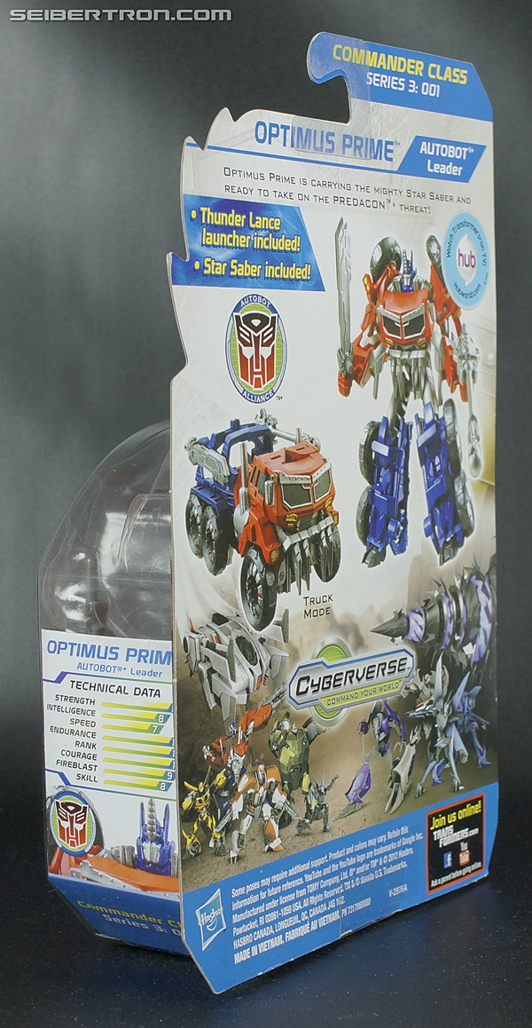 Transformers Prime Beast Hunters Cyberverse Optimus Prime (Image #6 of 100)