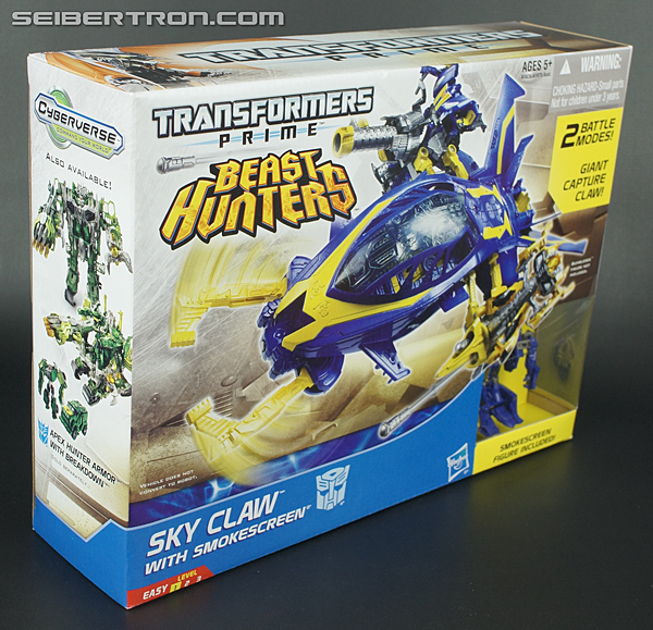 Transformers Prime Beast Hunters Cyberverse Sky Claw (Image #4 of 83)