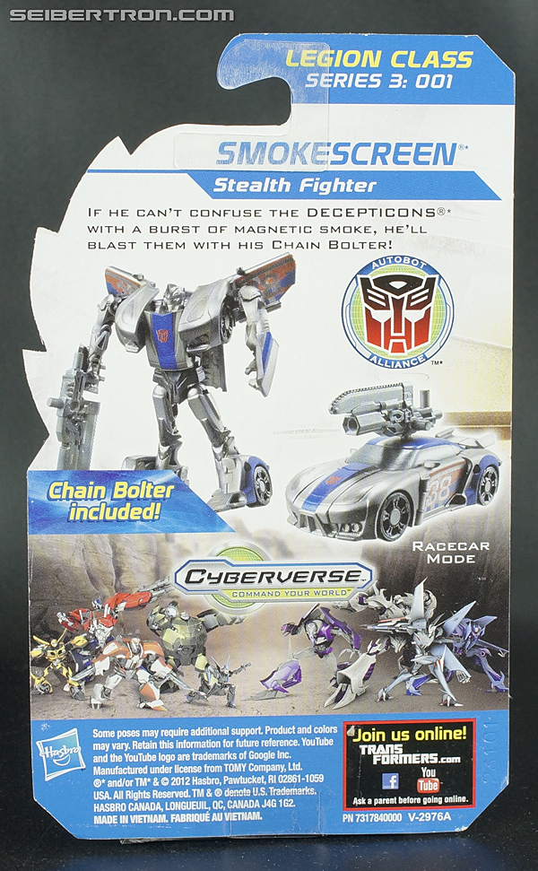 Transformers Prime Beast Hunters Cyberverse Smokescreen (Image #4 of 93)