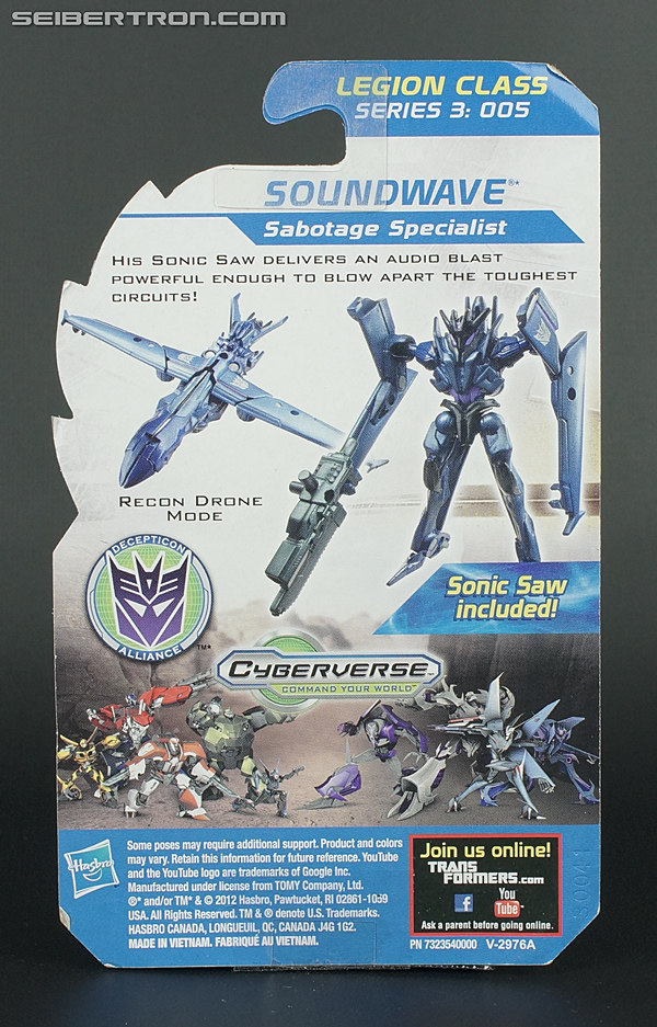 Transformers Prime Beast Hunters Cyberverse Soundwave (Image #5 of 103)
