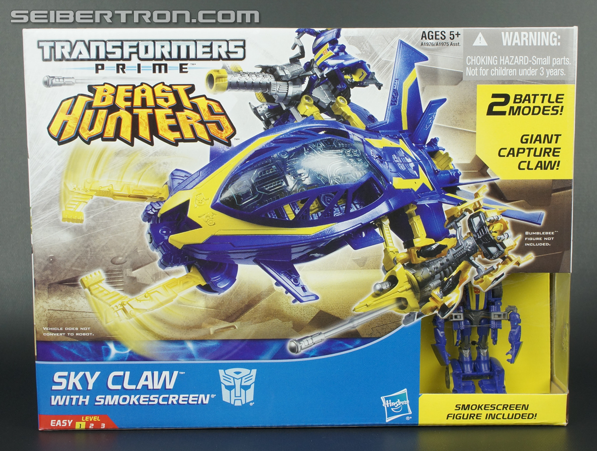 Transformers Prime Beast Hunters Cyberverse Sky Claw (Image #1 of 83)